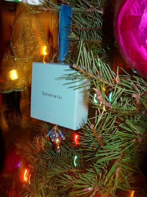 Tiffany And Co Christmas Ornaments Part - 15: DIY Christmas Tree Ornament To Make Using A Tiffany U0026 Co. Box