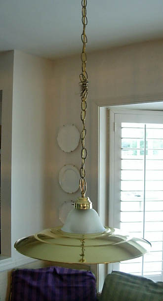 How to Make a Chandelier Chain Cover - In My Own Style