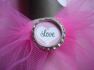 Valentine love button