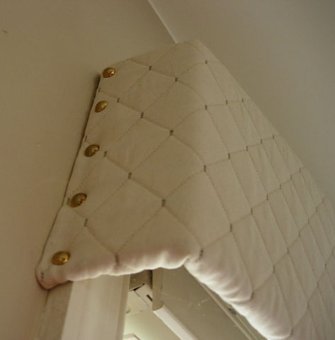 Recycled Cardboard Window Valance In My Own Style