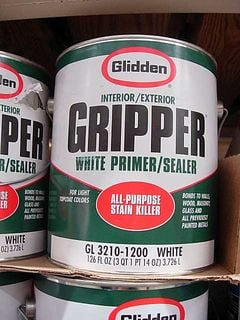 Gripper-Primer for Painting Kitchen Cabinets