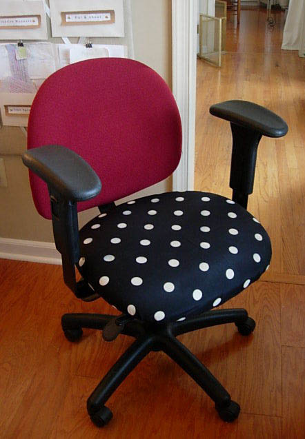 Diy Office Chair Makeover With Fabric In My Own Style