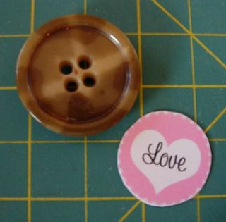 valentine button craft