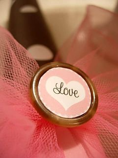 valentine love button craft