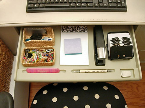 Desk-drawer-organizing ideas