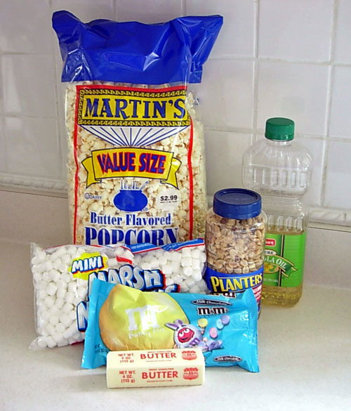 Popcorn-Cake-ingredients