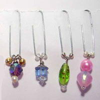 Jeweled Paper Clips
