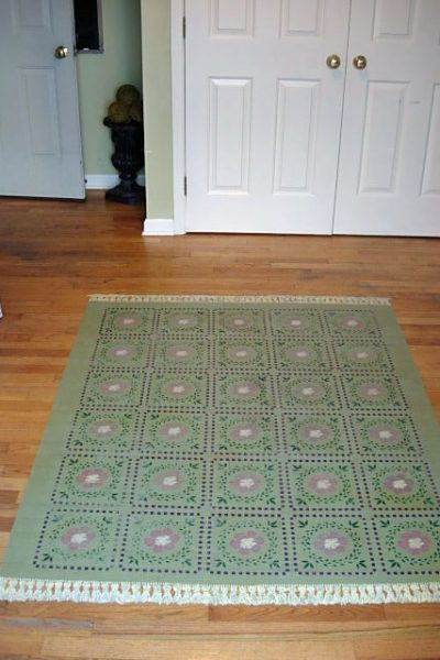 How To Paint a Rug on Your Floor