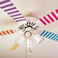 Ceiling Fan Painting – Make it Fun!