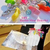 How to Make a Bracelet Using Barbie Shoes + Clutch Purse Giftbag