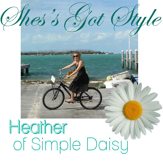 Interview with blogger Heather from Simple Daisy