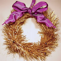 How To Make a Christmas Wreath Ornament