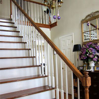 My Foyer Staircase Makeover Reveal