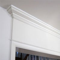 How to Add Crown Molding Above a Door