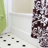 Bathroom Makeover – How to Add Decorative Molding to a Bathtub