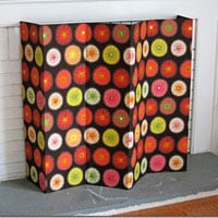 No Sew Decorative Fireplace Screen Practically Made For You