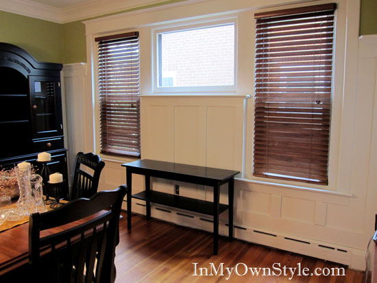 How to stain furniture with Minwax PolyShades in Classic Black Satin