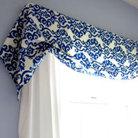 How to Make a No Sew Window Treatment