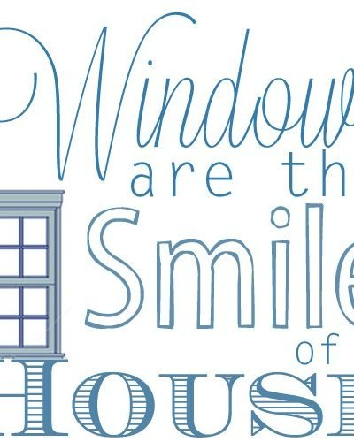 What I Am Loving Now: Bare Windows