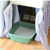 How To Disguise a Laundry Tub