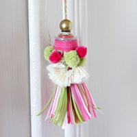 How to make a ribbon key tassel