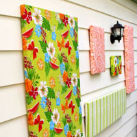 How To Make Outdoor Wall Art