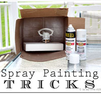 Spray painting tricks and tips