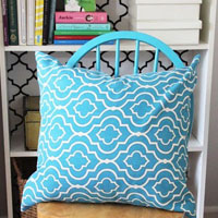 How to make a Pillow cover tutorial