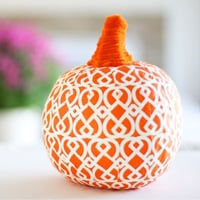 How to Make a Napkin Covered Pumpkin