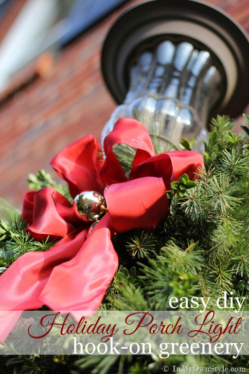 Easy and Affordable DIY Christmas-Outdoor-Porch-Decoration