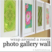 Wraparound The Room Art or Photo Gallery Wall