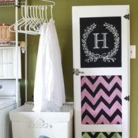 Painted Furniture Ideas – Jelly Cabinet & Free Printable Designs