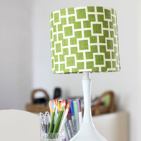 How to Decorate a Lampshade