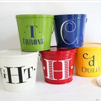 Monogrammed Citronella Candles