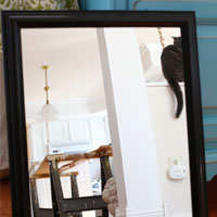 Fun Decorating Trick: Upside Down & Reversed