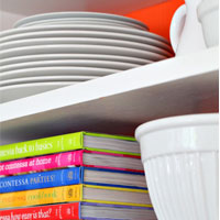 Instant Color Swap: Open Shelving Ideas