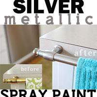 Spray Painting Metal Hardware: Brass to Nickel