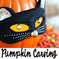Pumpkin Carving Ideas:  Pumpkin Purse
