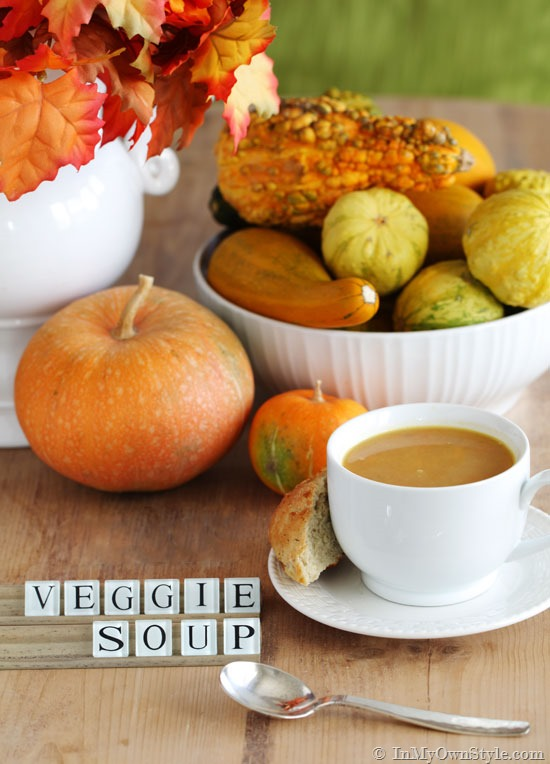 fast and easy vegetable soup recipe