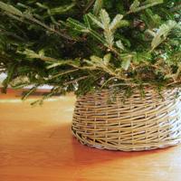 DIY: Basket Christmas Tree Skirt