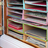 Scrapbook-Paper-Organizer