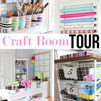 Studioffice:  Craft Room Tour