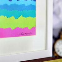 Colorize Your Life: DIY Artwork