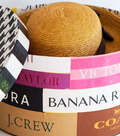 Hatbox: Decorative Closet Storage