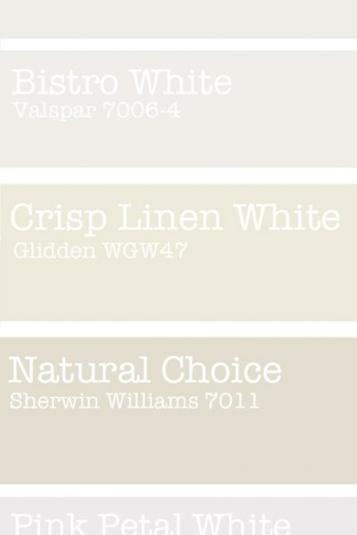 Fresh Favorite White Paint Colors In My Own Style