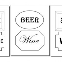 Free-Printable-Party-labels-for-Trash-Recycling-Beer-Wine-Soda-and-water
