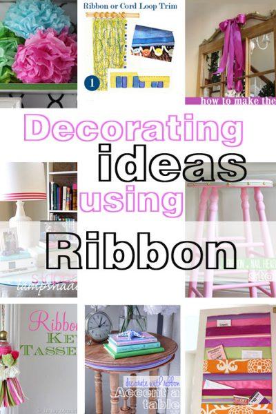 DIY-Decorating-Ideas-using-Ribbon