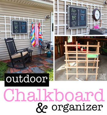 How-to-make-an-outdoor-chalkboard-hanging-organizer