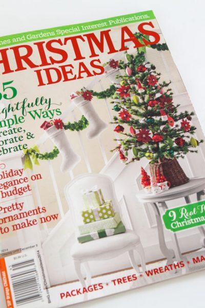 Featured in BHG Christmas Ideas