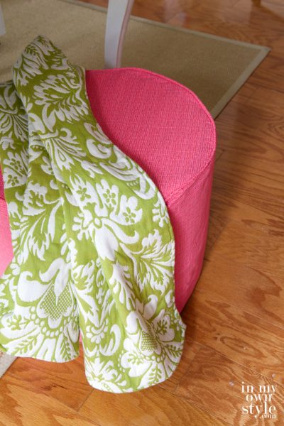Sew Your Style: Ottoman Cover
